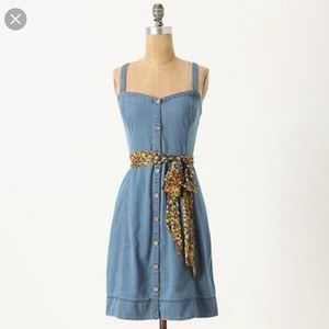 Anthropologie Rise N Shine Dress