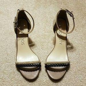 Sole Society Heel Sandals