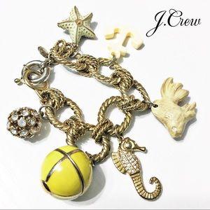 J. Crew Jewelry - J. Crew Sunset Beach Charm Bracelet