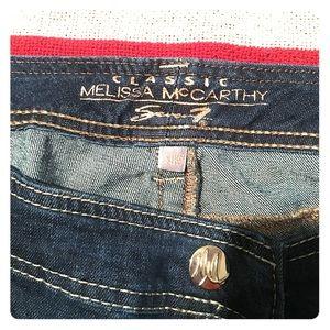 Melissa McCarthy Denim - Melissa McCarthy Straight leg jeans