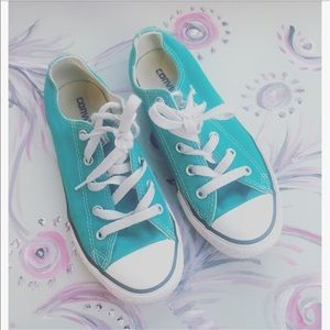 Converse Other - Converse turquoise Chucks sz:1 Unisex