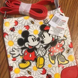 Mickey and Minnie Crossbody