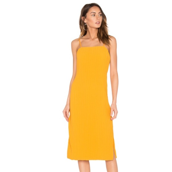 Elliatt Dresses - Elliatt 'Rise Dress' in Marigold Yellow