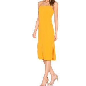 Elliatt Dresses - Elliatt 'Rise Dress' in Marigold Yellow