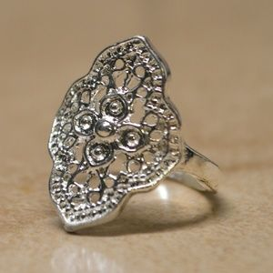 Jewelry - Brand New Sterling Silver Plated Bohemian Ring