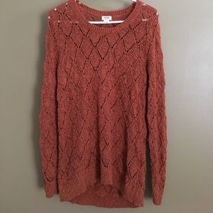 Mossimo Supply Co Sweaters - ✨LIKE NEW✨Mossimo Long Sweater (100% Cotton/Rust)