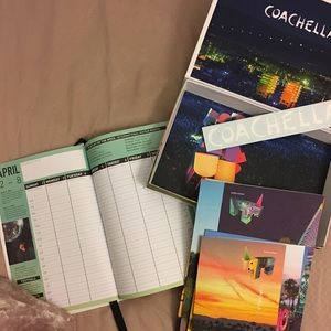 Other - COACHELLA Planner & Extra Goodies