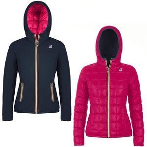 K-Way Jackets & Blazers - K-Way jacket. Size XS or can be Junior size.