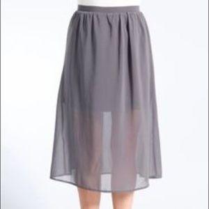 brooklyn industries  Dresses & Skirts - Raven sheer layered skirt Brooklyn Industries S