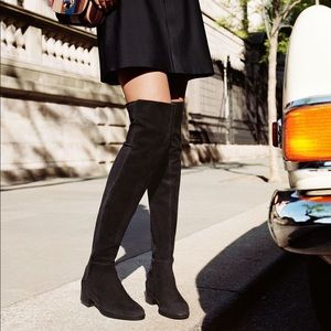 Tory Burch Shoes - TORY BURCH Caitlin Stretch Over The Knee Boot