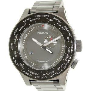 "Nixon Other - Nixon ""Passport"" Watch (Gunmetal)"