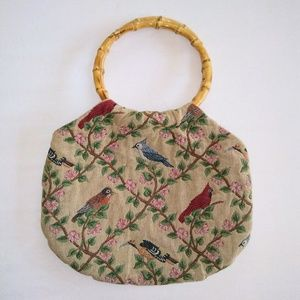 Vintage Handbags - VINTAGE Songbird Hand Bag