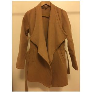 Jackets & Blazers - Brown trench jacket
