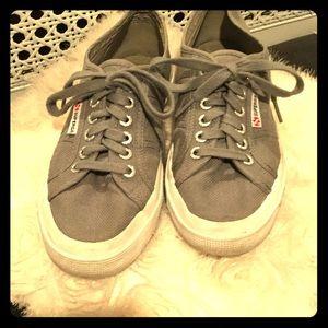 Superga Shoes - Women's Superga Classic COTU 2750 Sneakers in gray