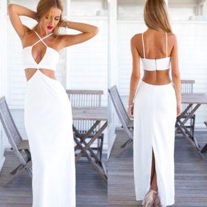 Sabo Skirt Dresses & Skirts - Love indie white maxi dress