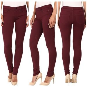 Liverpool Jeans Company Pants - Liverpool jeans 6/28 madonna leggings port wine
