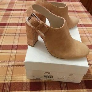 🆕 Karen Millen neutral suede shoes