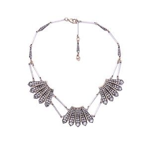 Lulu Frost Jewelry - Stunning❣LuLu Frost Art Deco Vintage Necklace