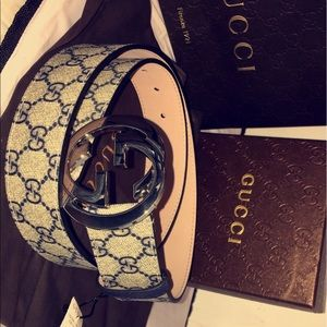 Gucci Other - Gucci Supreme belt Brand New With Tags