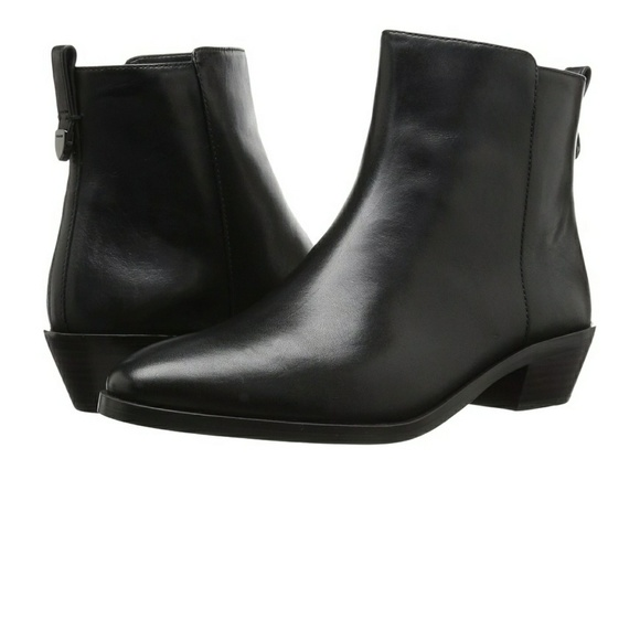 64 coach shoes new coach leather ankle boots