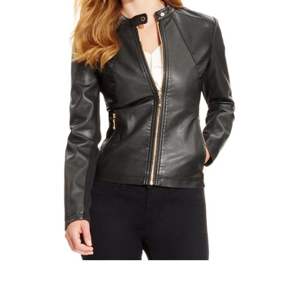 3ab36604916b Ivanka Trump Jackets   Blazers - Ivanka trump leather jacket