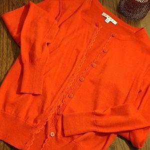 CAbi Sweaters - CAbi Red Cardigan