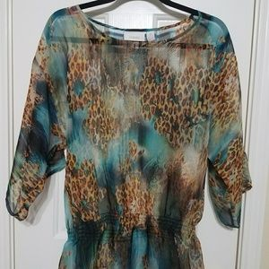 Chico's Tops - Chico's Sheer Blouse