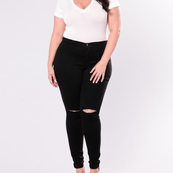 Black Canopy Jeans Fashion Nova