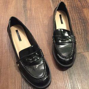 Zara Shoes - Zara Trafaluc Patent Loafers