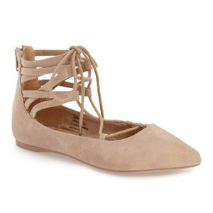 coconuts Shoes - Coconuts Liberty Ghillie lace up flats