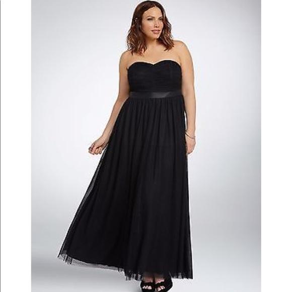 Torrid Dresses Formal Dress With Tulle Skirt Stunning Poshmark