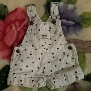 Osh Kosh Other - Baby girl 6 month shorts overalls