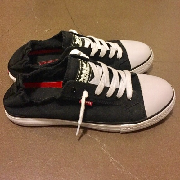 57 levi s shoes 2 hour sale levi s slip on sneakers
