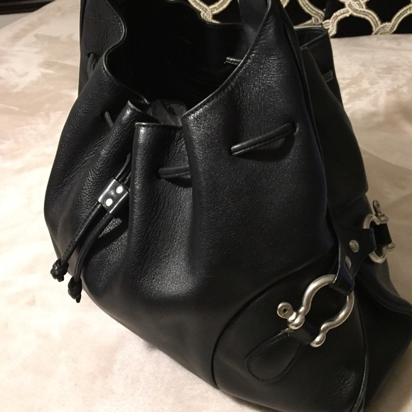 90 Off Burberry Handbags Large Black Drawstring
