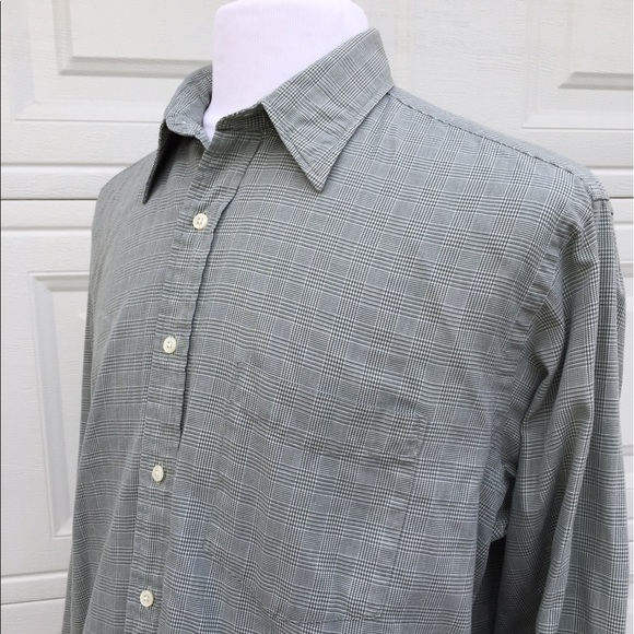 42 Off J Crew Other J Crew Vintage Green Plaid Button