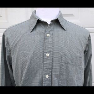 J. Crew Other - J CREW green plaid Button Down shirt 16 1/2