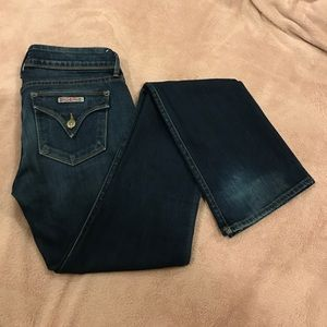 Hudson Jeans dark wash flare/boot cut