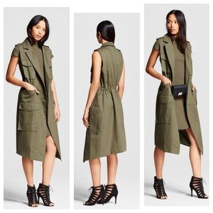 who what wear Jackets & Blazers - Who What Wear Trench Vest