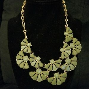 Statement Fashion Necklace with Matching Earrings