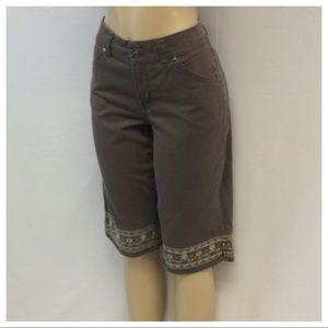 Gloria Vanderbilt Pants - GLORIA VANDERBILT Bermuda Shorts