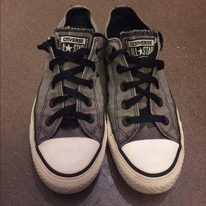 Converse Shoes - Converse Gray & Black