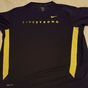 Nike Other - Mens Nike Livestrong Dri Fit