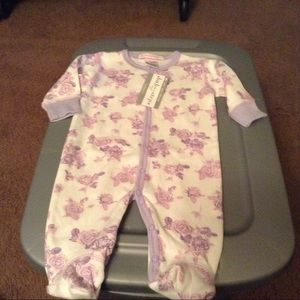 Baby Steps Other - New Baby steps purple roses sleepers NB $28