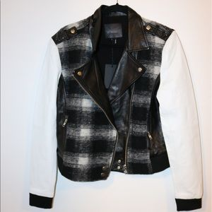 Paige Jeans Jackets & Blazers - NWT Paige Shelley Bomber Leather Jacket