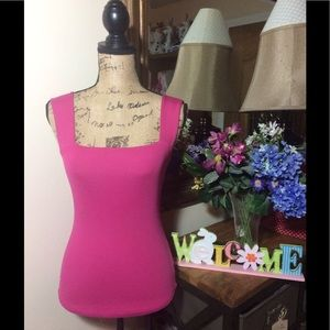 Cache Tops - Cache Pink Sleeveless Top