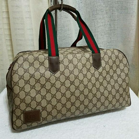 Gucci Handbags - Gucci Duffle Carry on Gym Bag