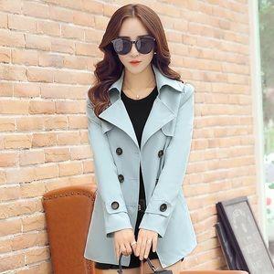 Jackets & Blazers - Super cute light blue trench coat