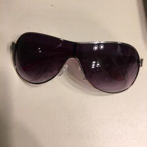 Betseyville Pink Leopard Aviator Retro Sunglasses