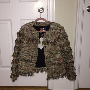 MSGM Jackets & Blazers - MSGM Bouclé jacket