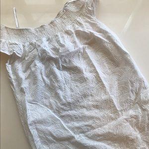 Tommy Hilfiger Dresses & Skirts - Tommy Hilfiger eyelet off the shoulder dress